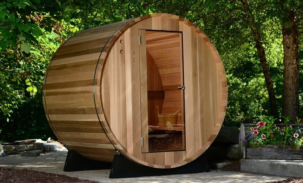 Almost Heaven Barrel sauna