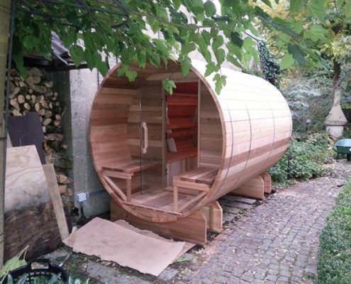 Barrel sauna 310 - Cox