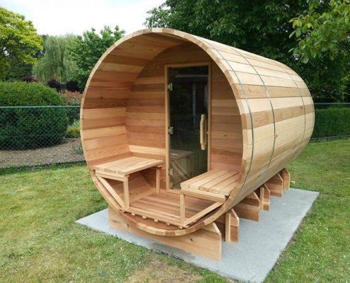 Barrel sauna 310 - De Wolf