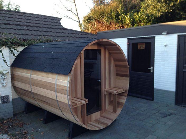 Barrel sauna - Bodegraven