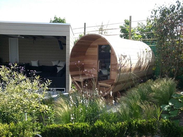 Barrel sauna - Vandenbuerie
