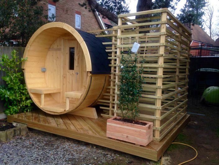 Barrel sauna in Purmerend