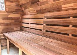Sauna pod banken