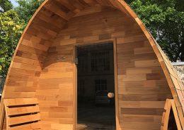 Sauna pod buiten