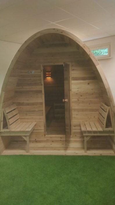 Sauna pod in Breda