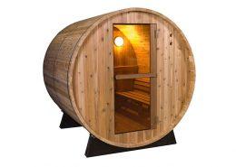 Barrel Sauna Rustic 4 ft.