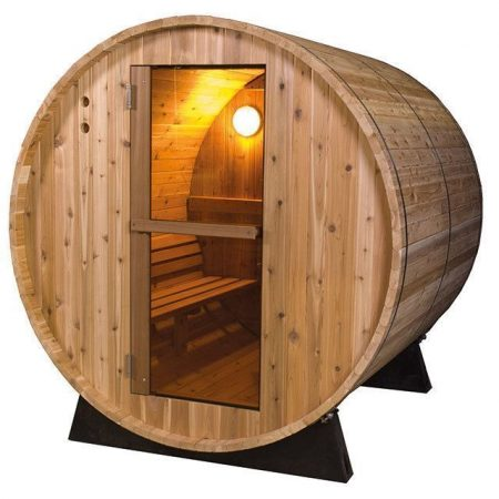Barrel Sauna Rustic 6 ft.