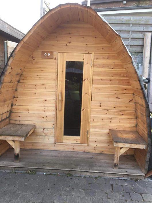 Sauna pod in Riemst, België