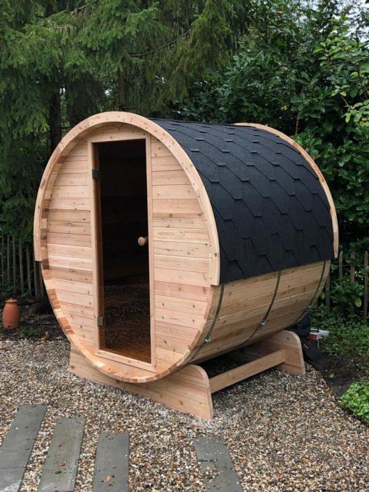 Barrel sauna infrarood - Sunspa Joure