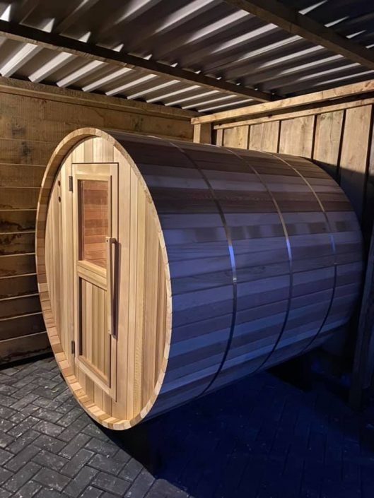 Barrel sauna - Weerselo