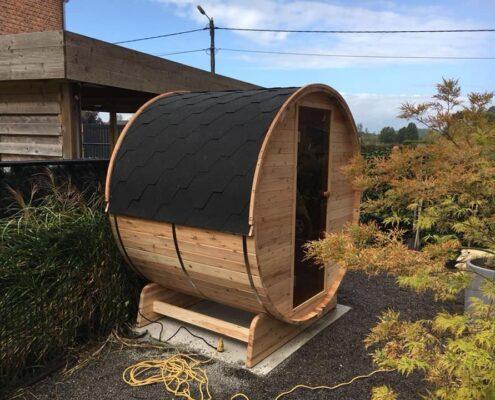 Barrel sauna Poppel
