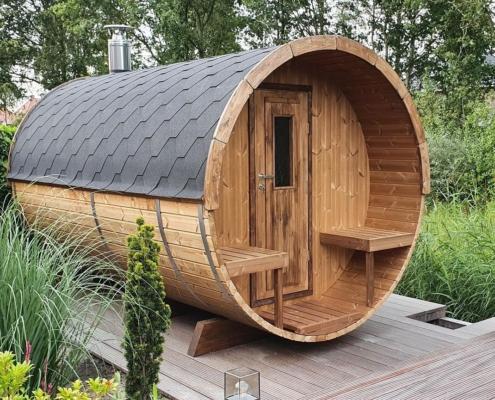 Barrel sauna Joure